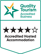 Quality Tourism Accredited Business 4.5 Stars